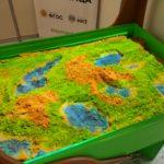 Интерактивная песочница ландшафт