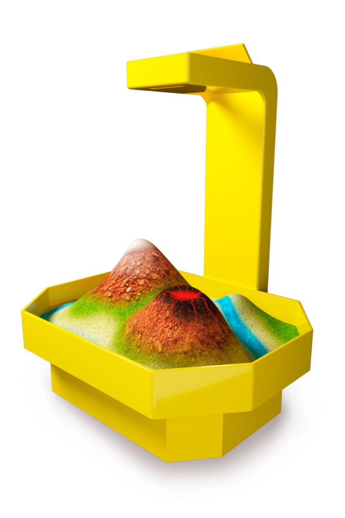 интерактивная песочница алмаз