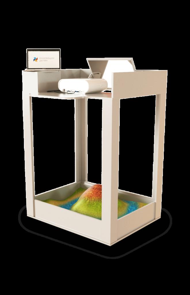 Интерактивная песочница Домик