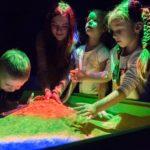 Интерактивная песочница дети природа