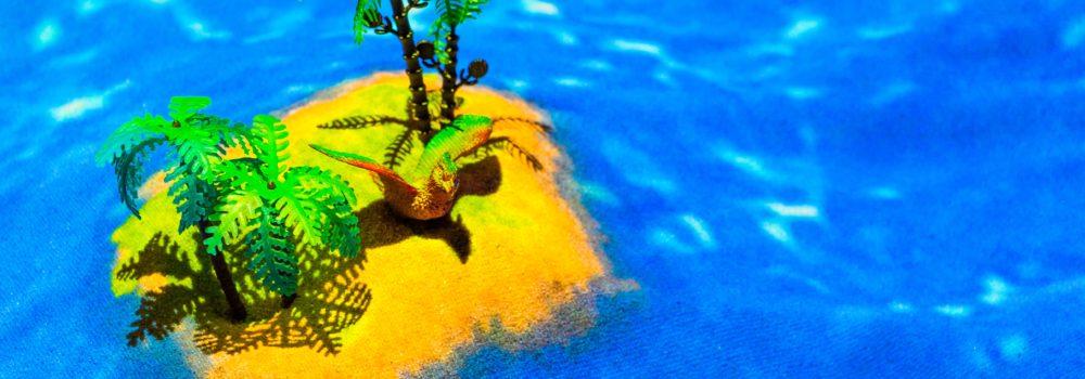 интерактивная песочница остров