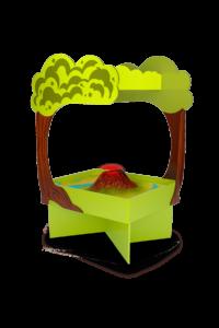 Интерактивная песочница Полянка