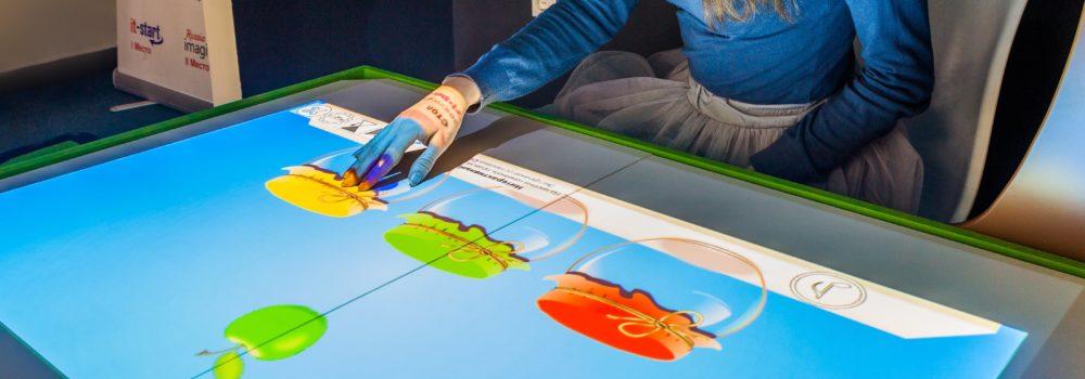 Как интерактивная песочница превращается в сенсорный стол?