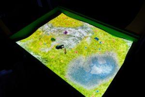 интерактивная песочница времена года