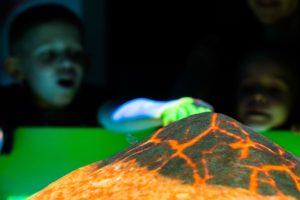 Интерактивная песочница вулкан