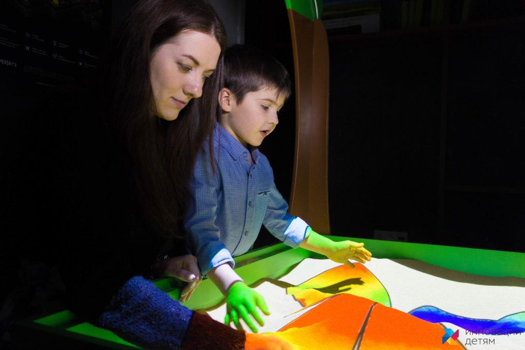 интерактивная песочница занятие раскраска