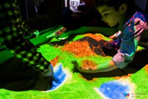 интерактивная песочница занятие с детьми