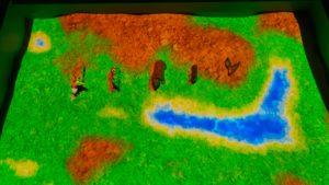 интерактивная песочница занятие со зверятами