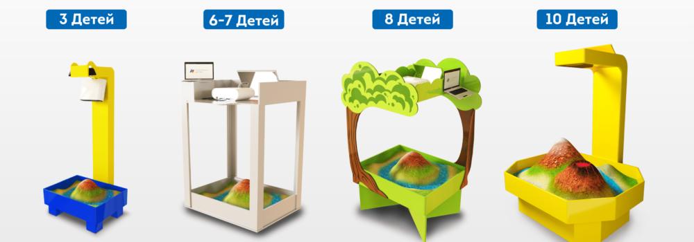 интерактивные песочницы виды конструкций