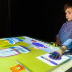 интерактивный стол - интерактивная песочница