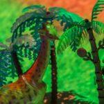 Жираф и Пальмы