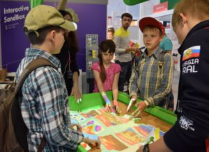 интерактивная песочница для школы