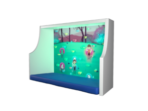 интерактивный скалодром игра в гостях у эльфов