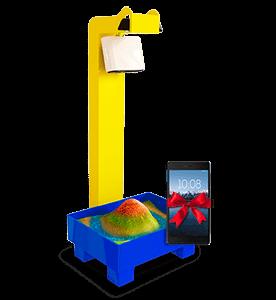 интерактивная песочница Островок с подарком