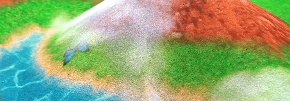 интерактивная песочница природа