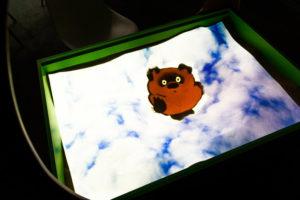 Режим мультфильмы в интерактивной песочнице