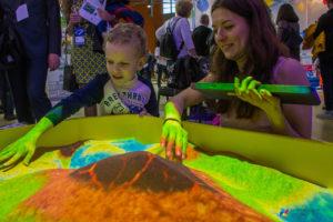 Работа в интерактивной песочнице