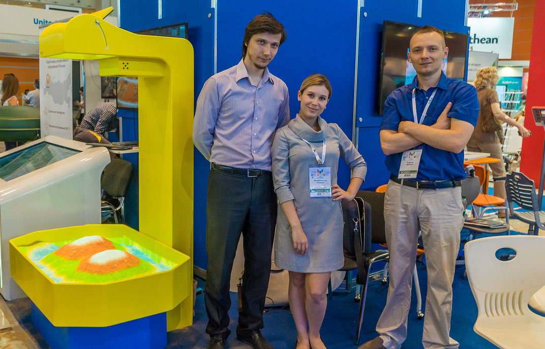 Представители компании «Инновации детям»